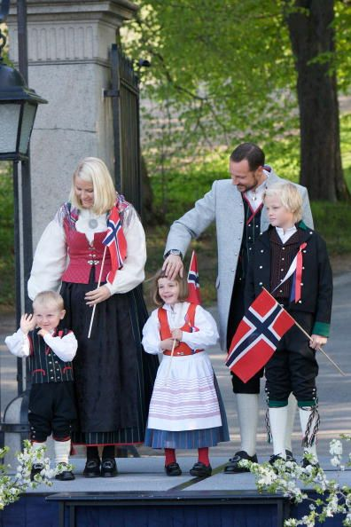 princesse Ingrid Alexandra, le prince Sverre Magnus,Marius Borg Høiby