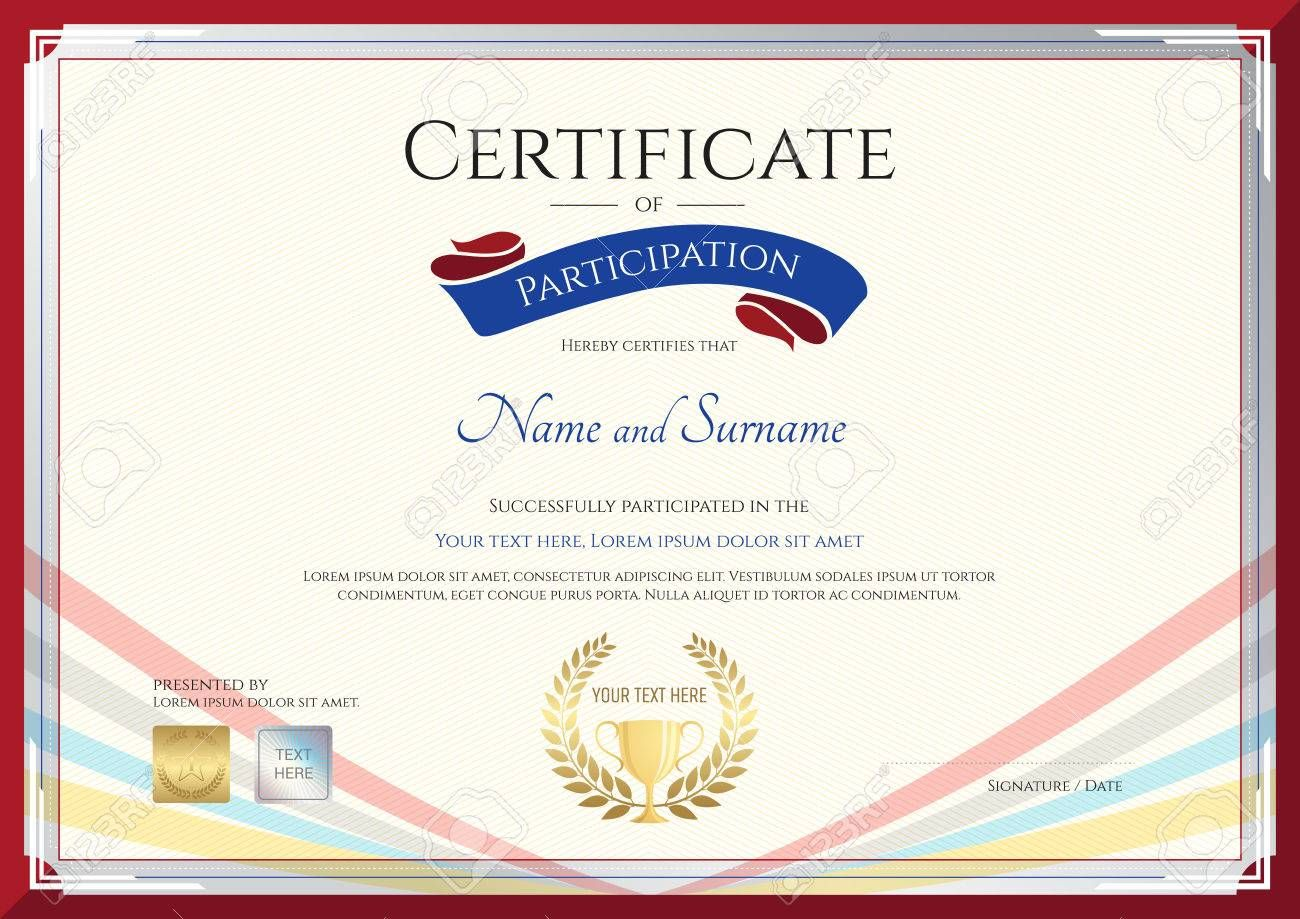 The Surprising Certificate Template For Achievement Apprecia In 2020 Certificate Templates Certificate Of Participation Template Photography Gift Certificate Template