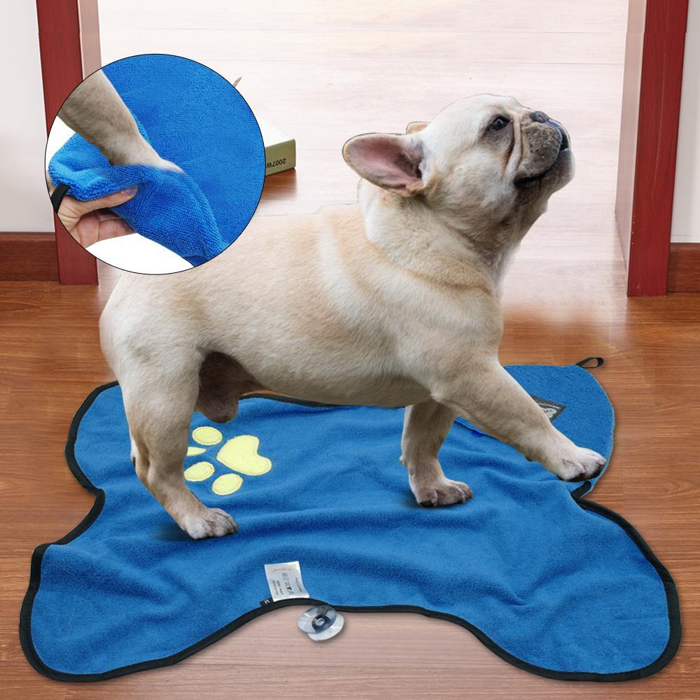 Microfiber Pet Bath Towel Taylor Moon Baixauli Puppy Grooming