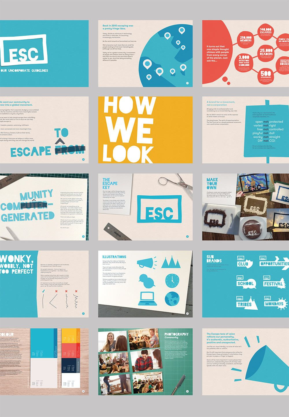 escape the city business fish pinterest design presentation