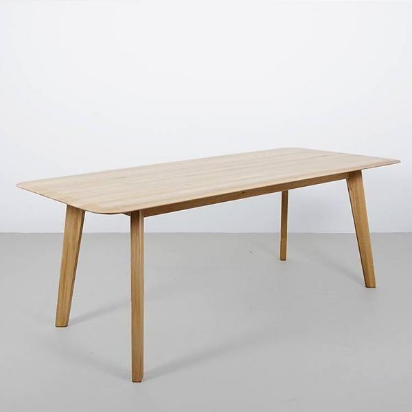 Designtafel Samt massief hout ranke afwerking - Sav & Økse