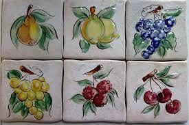Risultati immagini per piastrelle per cucina con frutta
