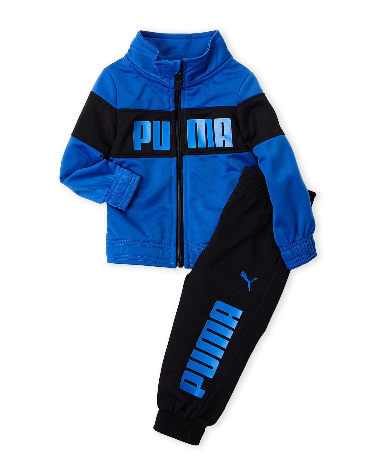 d0a41bd58170 Puma (Newborn Boys) Two-Piece Logo Track Jacket   Jogger Pants Set ...