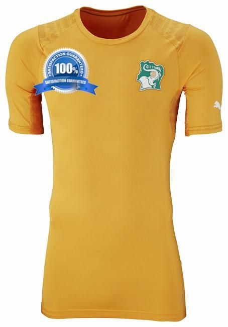 Custom Cote d Ivoire 2014 World Cup Home Soccer Jersey sale  52.99 at http  173f8f8be