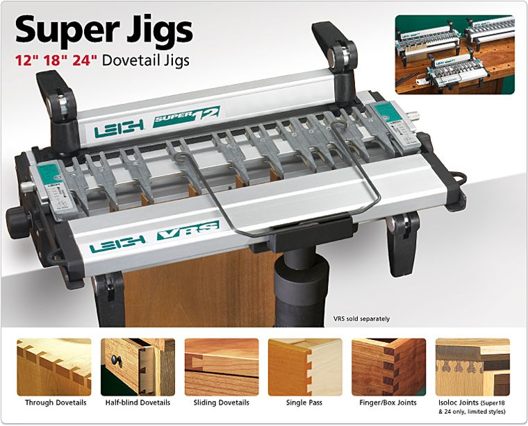 Leigh Super Jig Dovetail And Box Joint Jig Box Joints Router Woodworking Dovetail Jig