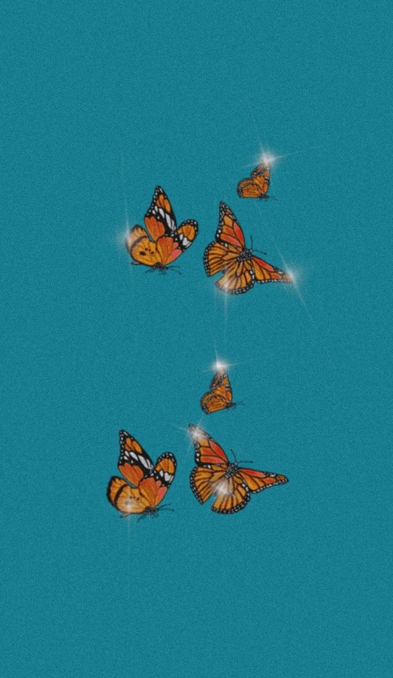 Bling and butterfly wallpaper in 2020 Bling wallpaper