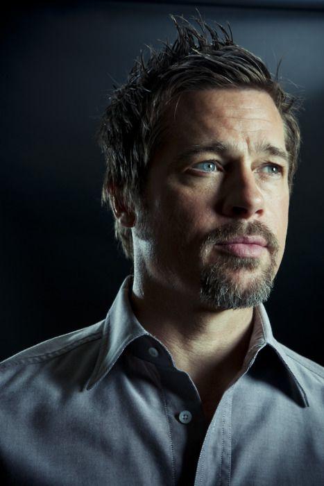 Brad Pitt, by Michael Muller.
