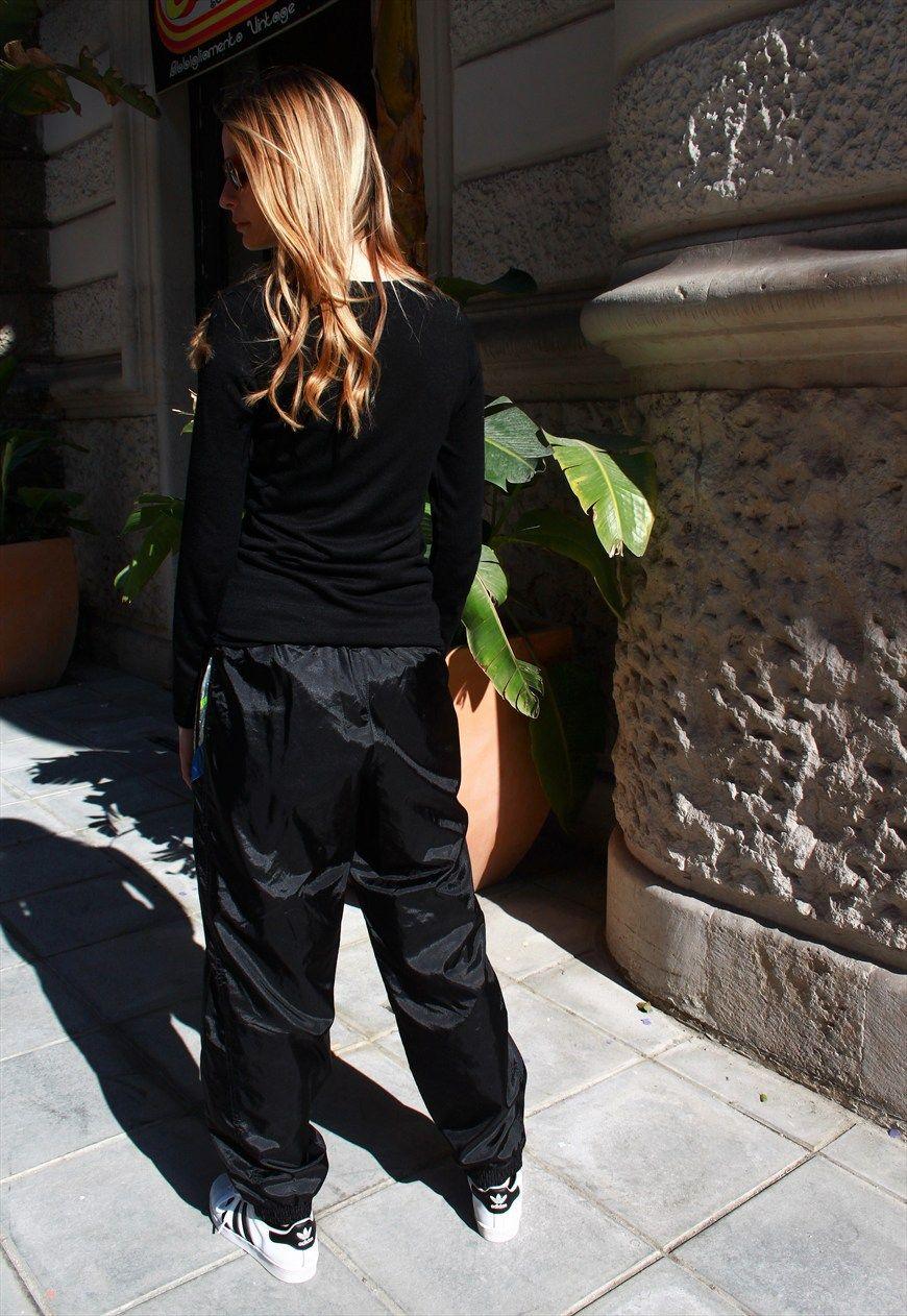 adidas nylon ladies pants