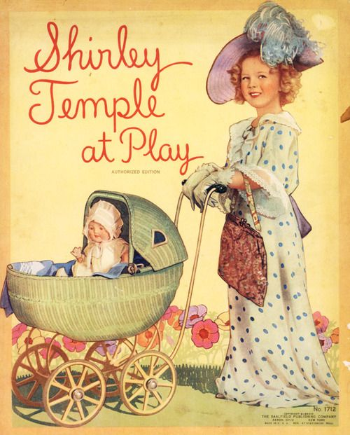 Shirley Temple at Play, Picture Book, 1935.
