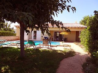 Detached+Villa+with+private+pool,+garden+and+Wifi,+far++from+200+m.+of++the+beach+-+6/people+++Holiday Rental in Ciutadella de Menorca from @HomeAwayUK #holiday #rental #travel #homeaway
