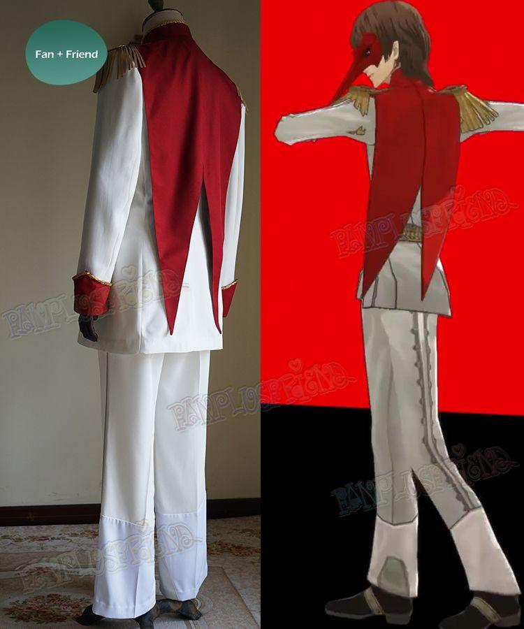 New Persona 5 Goro Akechi Uniform Suit Full Set Cosplay Costume Custom Made