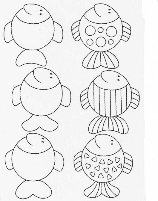 Worksheets activities for kids Complete the drawings 19 #