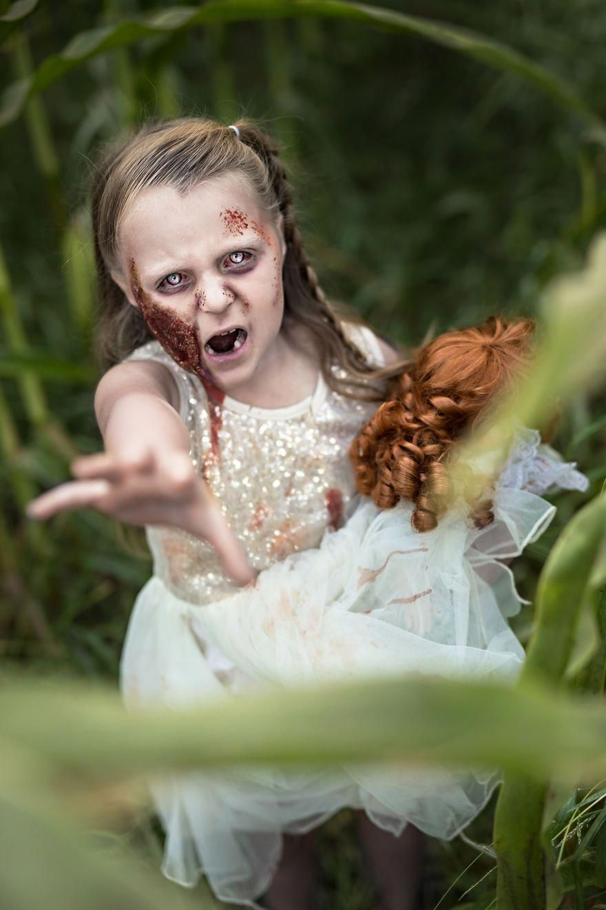 I Turn My Clients Into Zombies in 2020 Halloween kids
