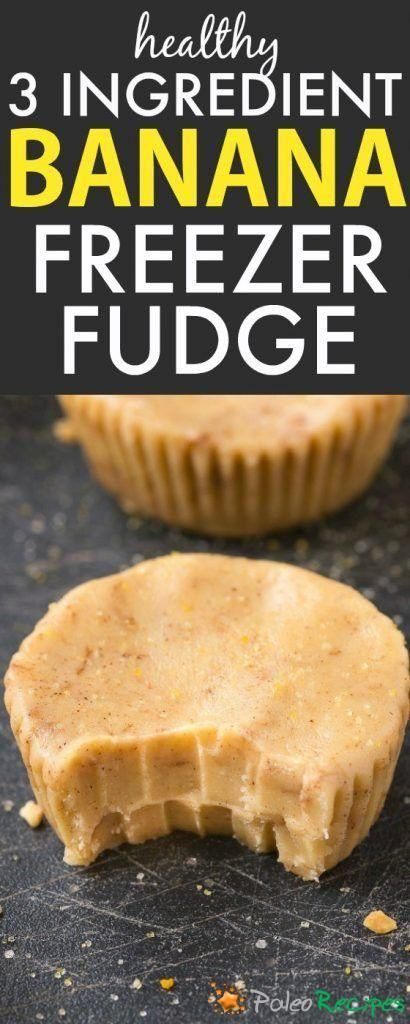 Healthy 3 Ingredient Banana Fudge Cups Smooth, creamy and meltinyour mouth fu... 3 Ingredient Banana Fudge Cups Smooth, creamy and meltinyour mouth fu...
