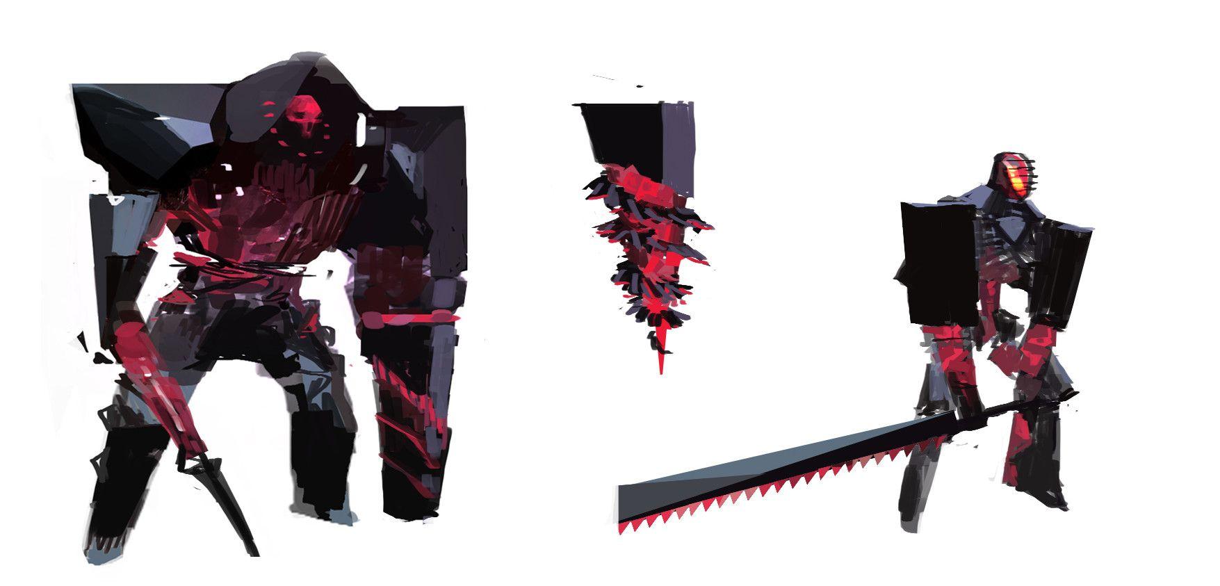 ArtStation - Branded - Guild Wars 2 : Path of Fire, Zhengyi