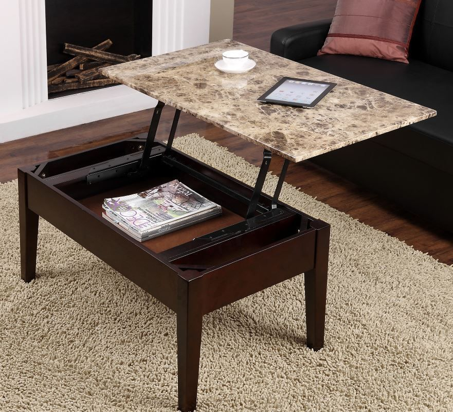 Lift Top Coffee Table Convenience Concept Ethan Allen Wayfair With Storage Brown Dorelliving Modern Coffee Table Coffee Table Walmart Lift Up Coffee Table