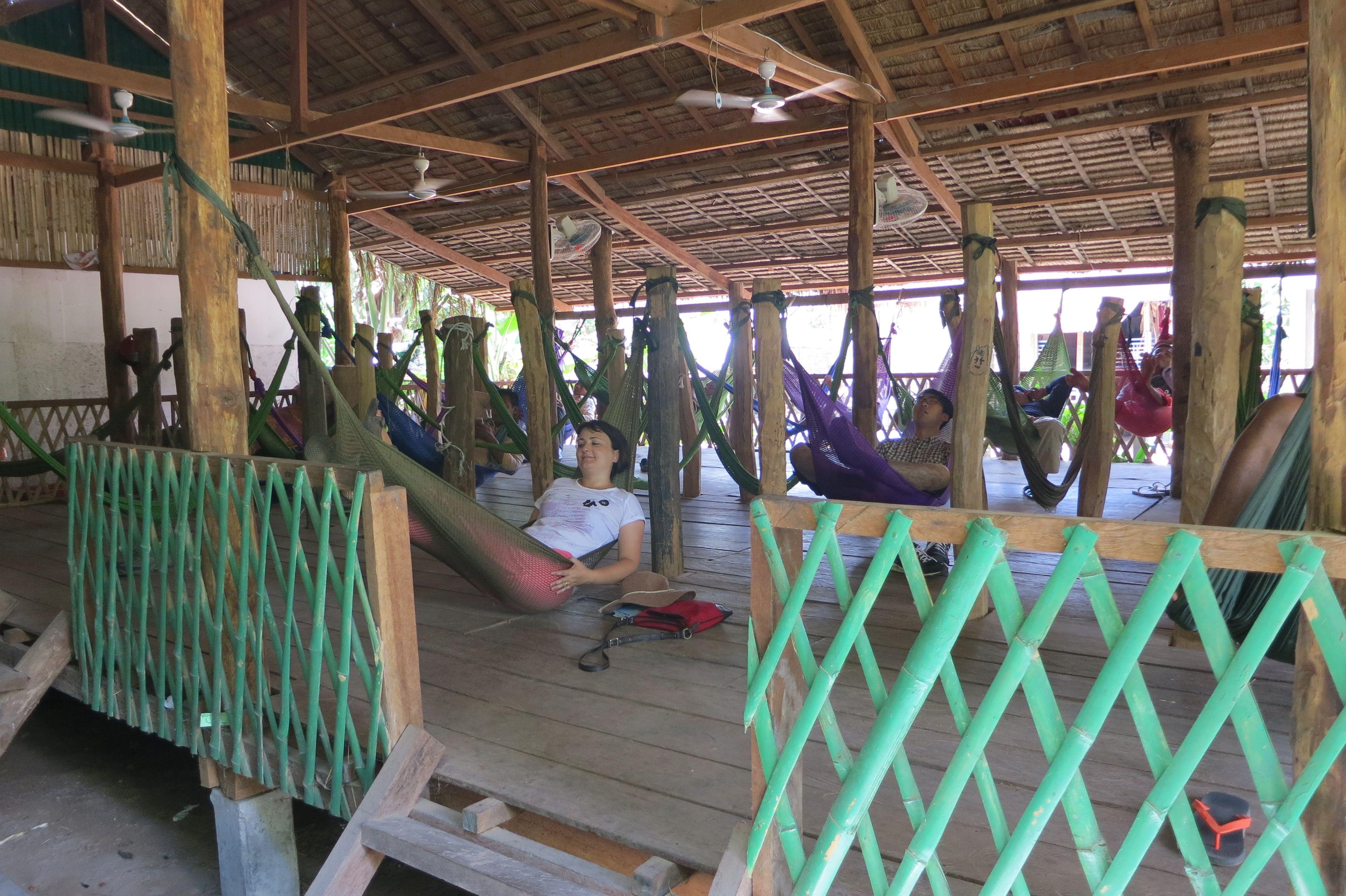 De relax en Camboya..
