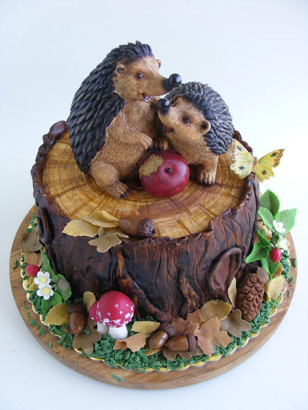 hedgehog cake                                                                                                                                                                                 More