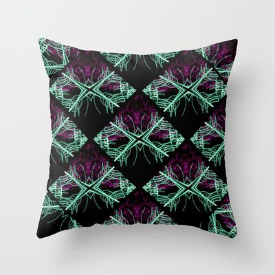 Elegant Decorative Dark Pattern Throw Pillow by Danflcreativo - $20.00  #abstract, abstract #design throw pillow, abstract pattern throw pillow, #elegant abstract pattern throw pillow, design, #ornament pattern throw pillow, #luxury pattern throw pillow, #dark pattern throw pillow, dark design throw pillow, #throwpillows #home #decoration