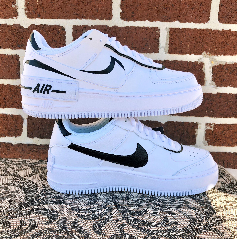 Custom Shadow Nike AF1 | White nike shoes, Nike fashion shoes ...