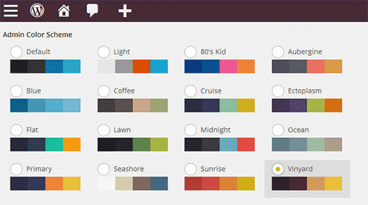 How To Change The Admin Color Scheme In Wordpress 38 Dectype