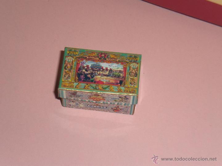 Casa de mu ecas caja diorama circo juguete antiguo circo teatro de papel el taller de - Casa de munecas teatro ...