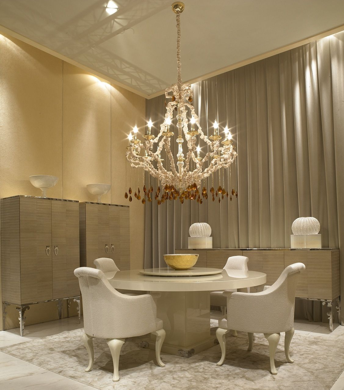 126 Custom Luxury Dining Room Interior Designs: Luxe Italian Designer Interiors, Sharing Designer Home