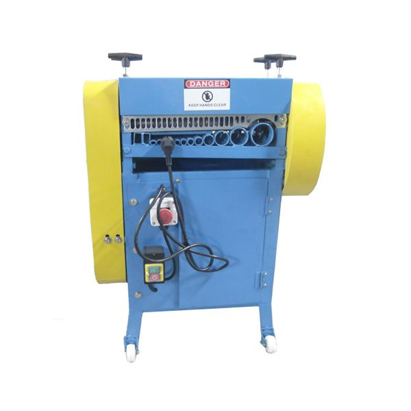BS-040 waste copper wire stripping machine   How to separate copper ...