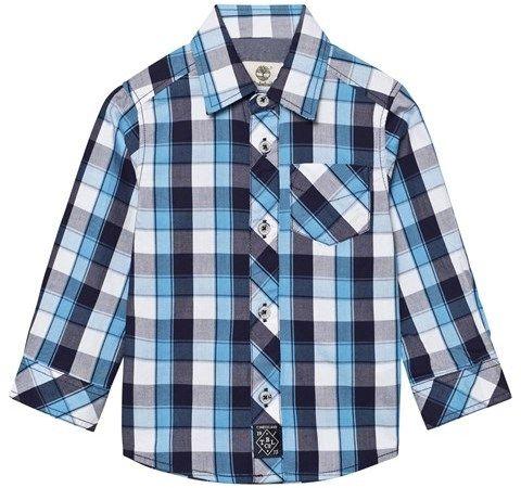 Timberland Blue Check Shirt