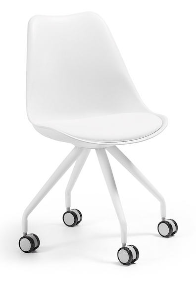 Krzeslo Lars Bialy Kave Home Office Chair Furniture