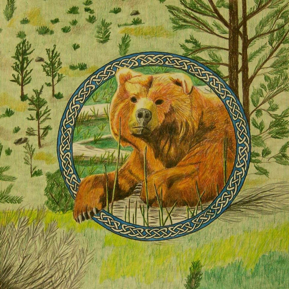 Irish Spirit Bear