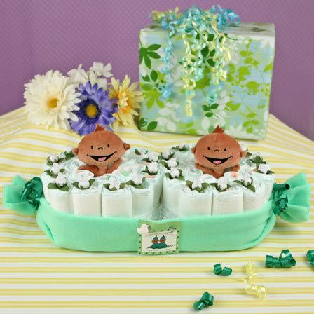 Two peas in a pod theme twins baby shower ideas baby for Baby shower decoration ideas for twin boys
