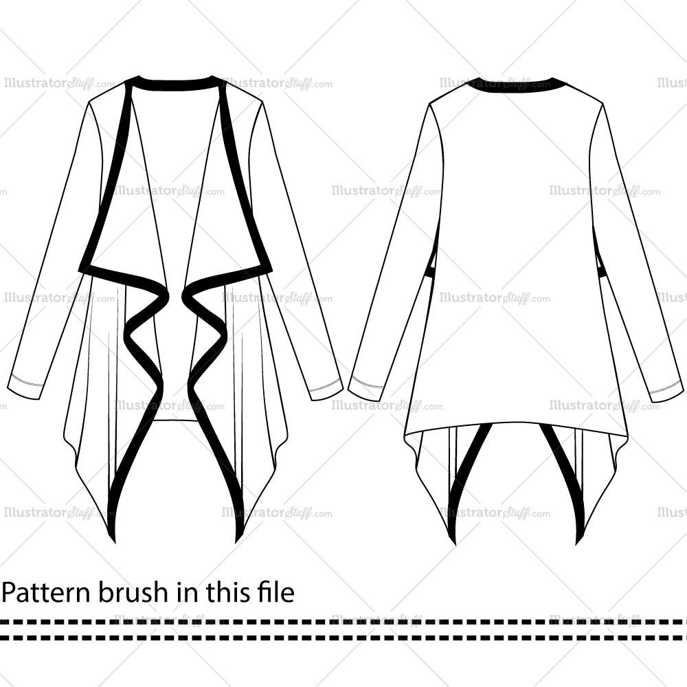 Free Fashion Flat Templates Trim Pack Courses Free Tutorials On Adobe Illustrator Tech Packs Freelancing For Fashion Designers Fashion Design Jobs Fashion Drawing Fashion Sketch Template