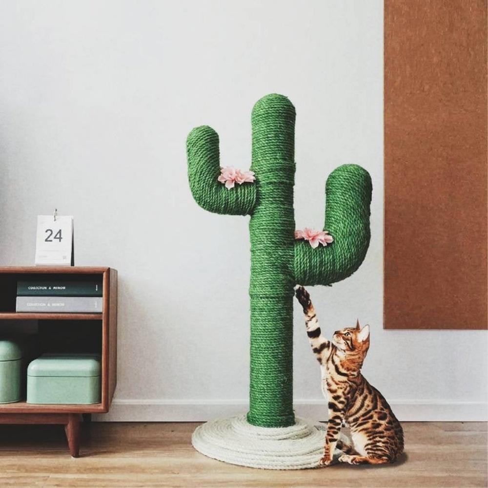 Cactus Cat Scratcher Modern Cat Beautiful Cat Scratcher