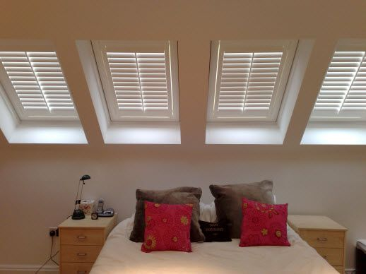 Photo Gallery Home Ideas Bedroom Shutters Attic