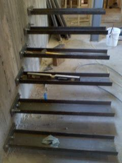 Timber Springs Lodge Floating Stair Update Floating Stairs | Steel Stairs For Sale | Spiral | Indoor | Interior | Cantilever | Straight