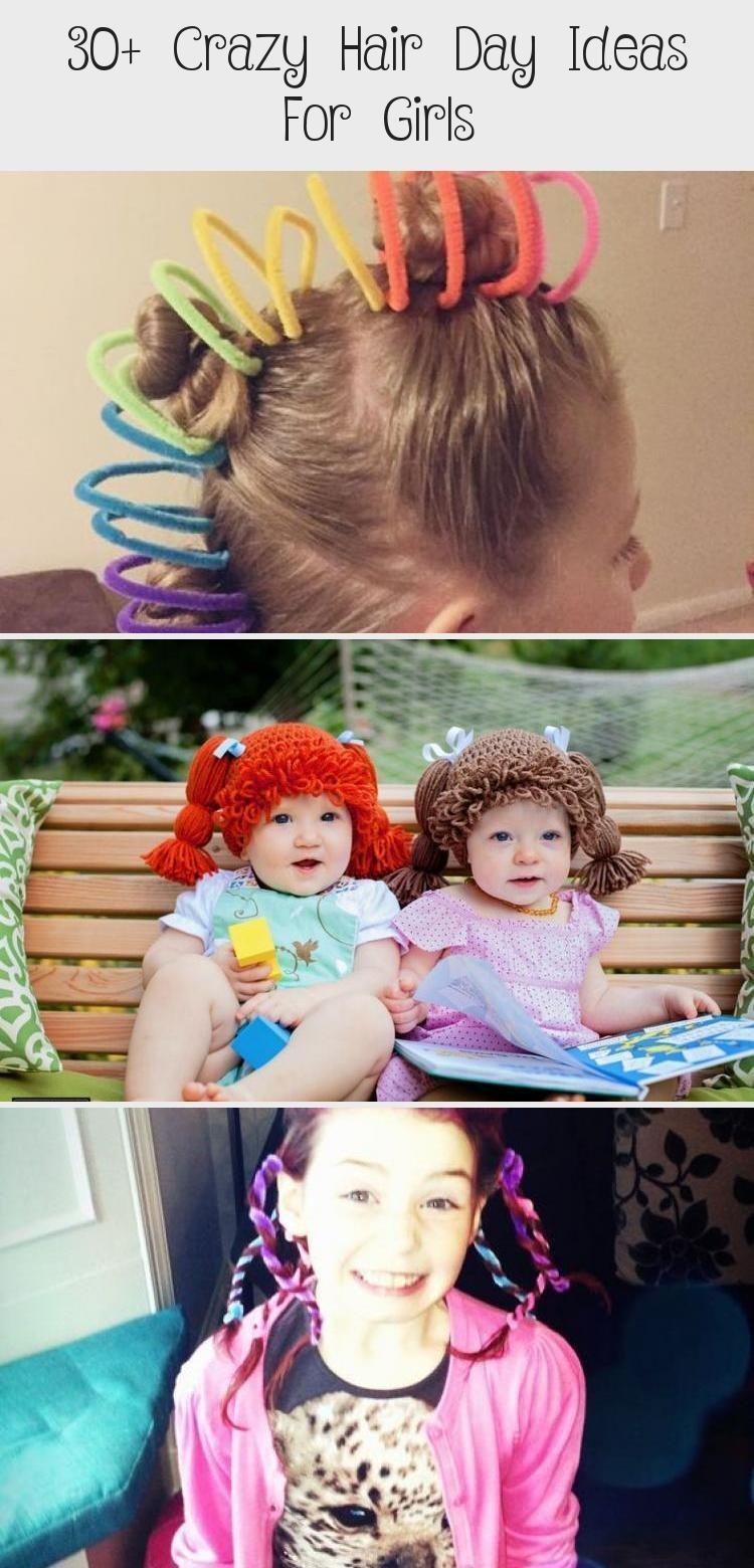 12+ Crazy Hair Day Ideas For Girls crazyhatdayideas 12+ Crazy ...