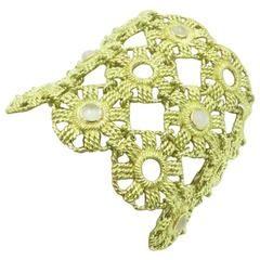 Moonstone Gold Bracelet.