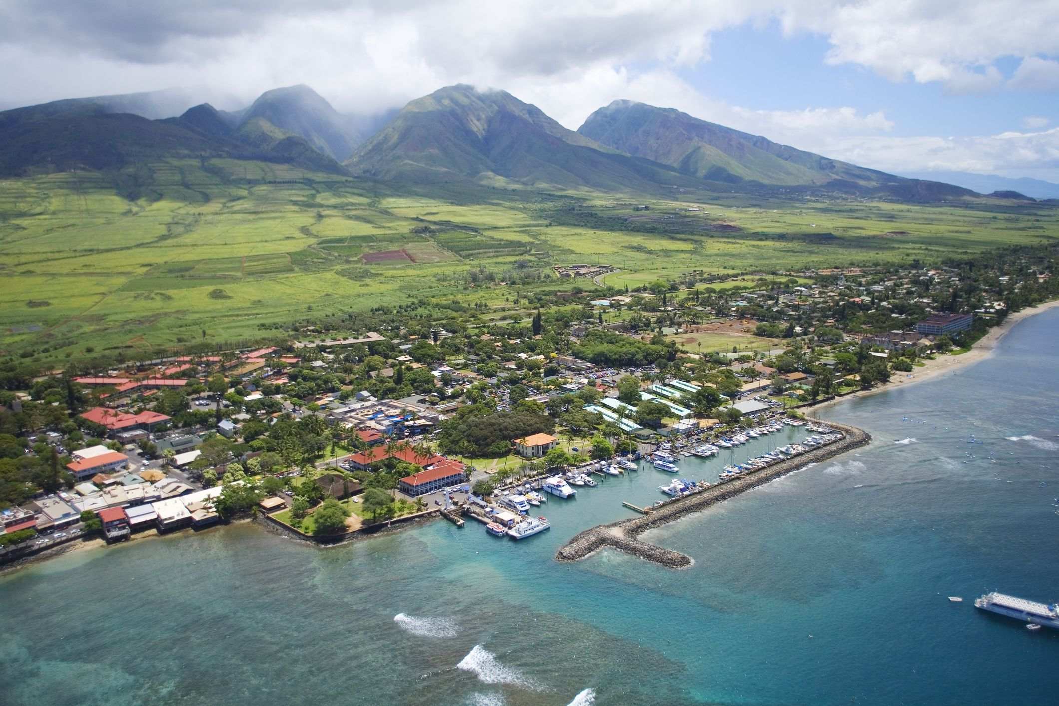 View photos of the most notable sites in historic Lahaina. Lahaina is located on the island of Maui and is one of Hawaii's oldest cities.