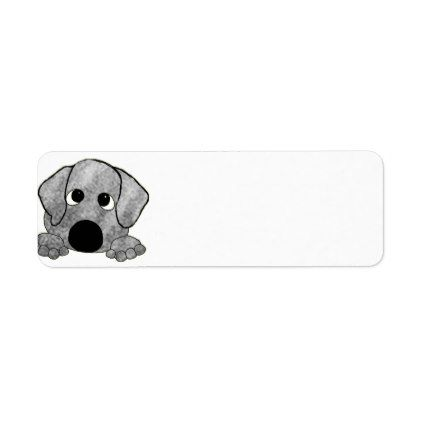 plott hound gray brindle peeking label | Zazzle.com #plotthound