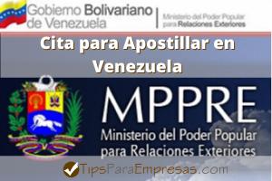 Cita Para Apostillar Ministerio De Relaciones Exteriores En Venezuela Venezuela Relaciones Exterior