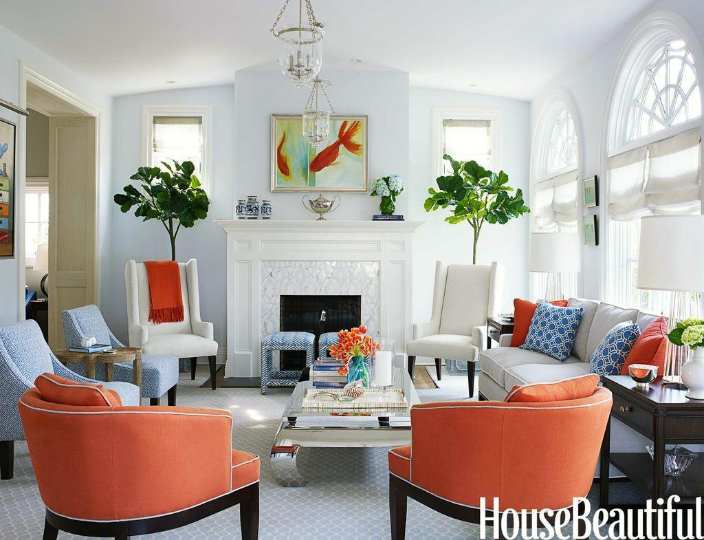 Presenting | Burnt orange living room, Orange living rooms and ...