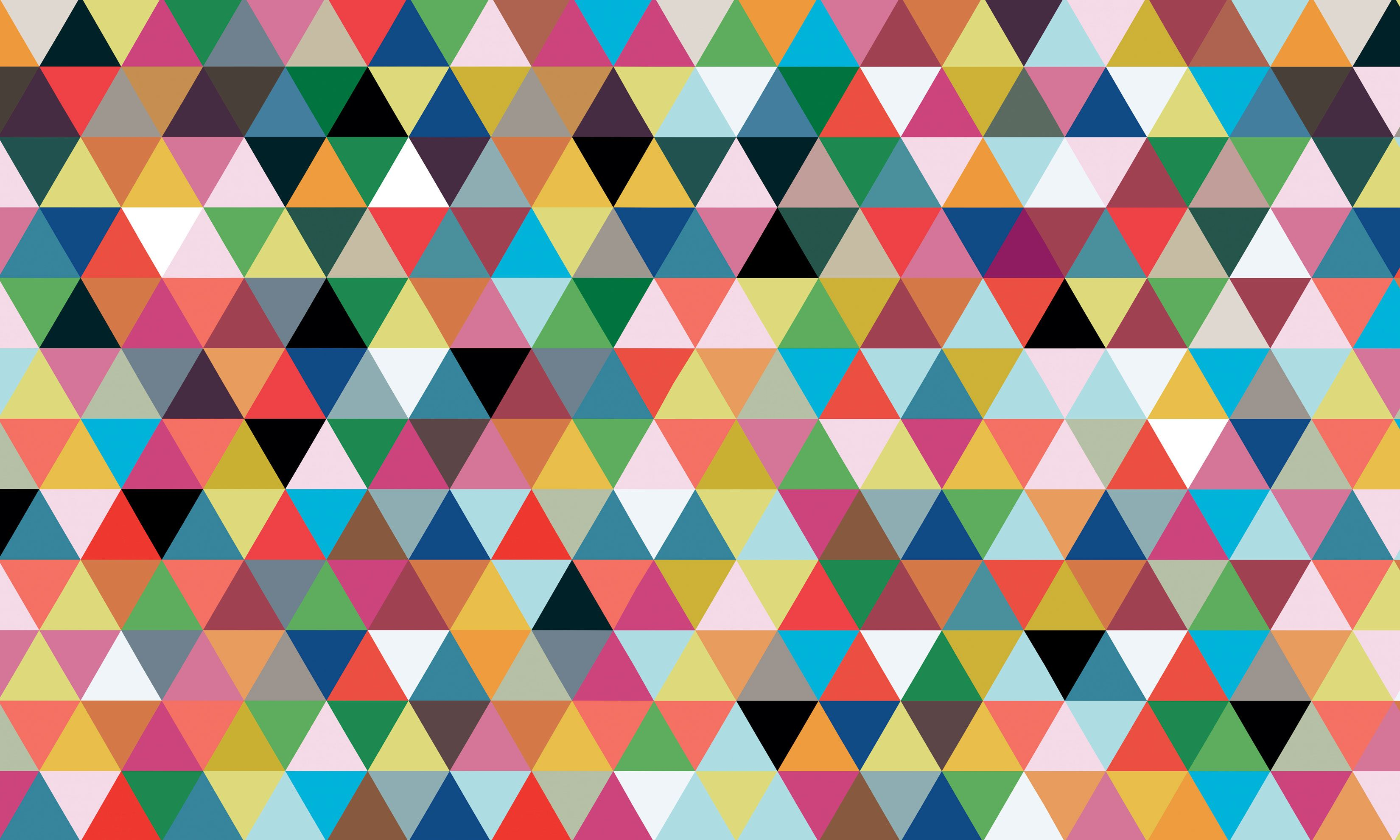 triangle pattern design ! take it for your wallpaper ...