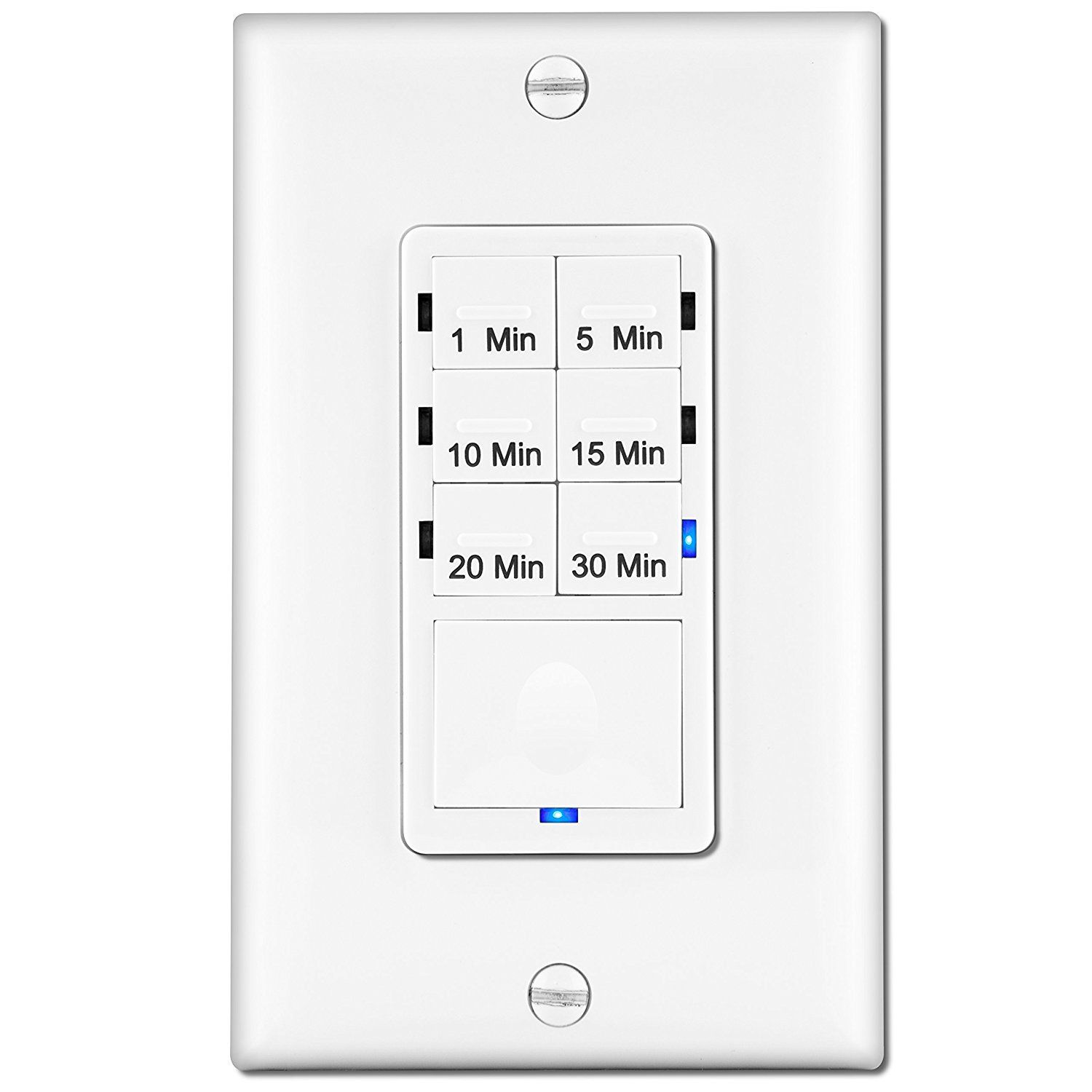 timer to install for bathroom vent fans enerlites het06a 1 5 10 15 Bathroom Old-Style Fan enerlites in wall countdown timer switch preset maximum 30 minutes delay standard decorative wall plate included