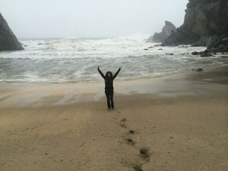 Simpson Beach. The most beautiful place I've ever been. It was pouring rain and still absolutely amazing.