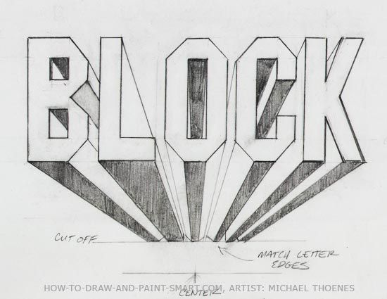 how to draw block letters hollow block letters minor obsessions 1297