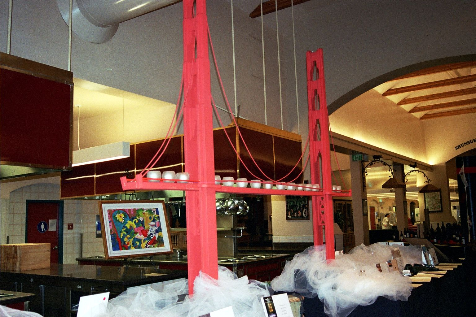 San Francisco theme using Golden Gate