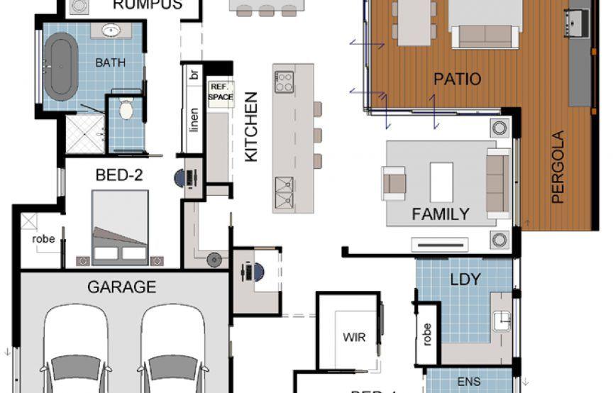 Floor Plan Friday U Shaped 5 Bedroom Family Home Floor Plans How To Plan Herringbone Floor House floor plan rules