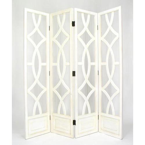 Whitewash Charleston Screen Wayborn Furniture Screens & Panels Screens & Room Dividers Fur