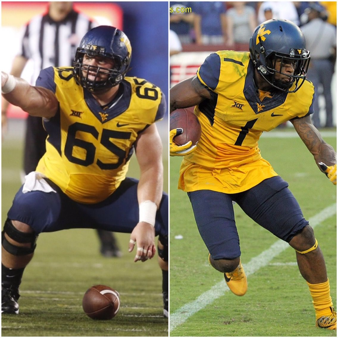 A Look At WVU Mountaineers Participating At The NFL